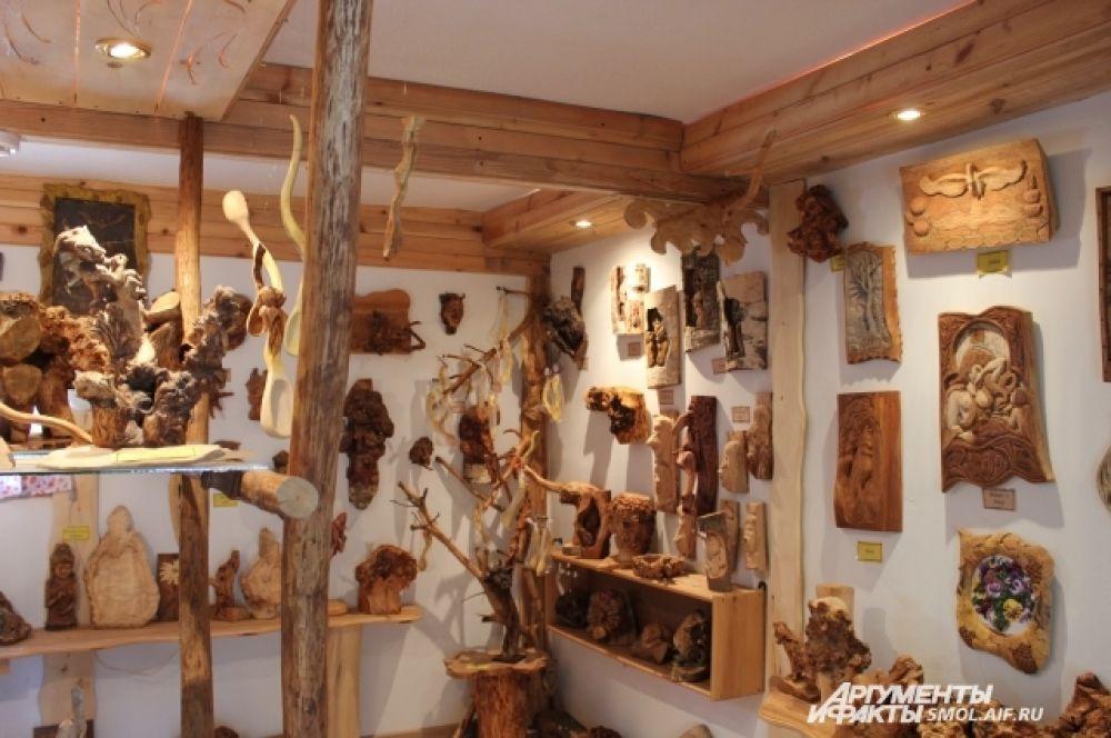 Экспозиция музея.