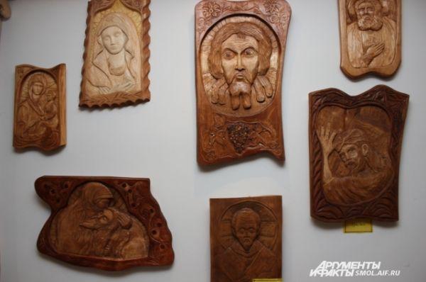 Иконы в исполнении Виктора Милеева