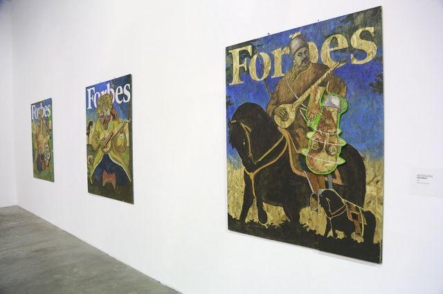 Арт-выставка Forbes Украина