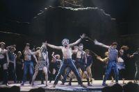 «Иисус Христос — суперзвезда» в театре имени Моссовета. 1991 год.