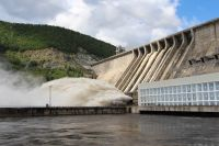 Зейская ГЭС.