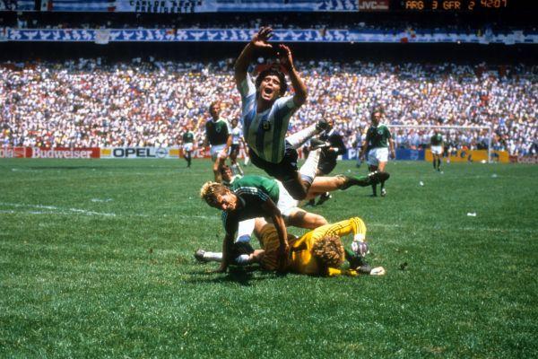 Аргентина – Германия: 3:2. 1986год. Стадион Ацтека, Мексика, Мехико.