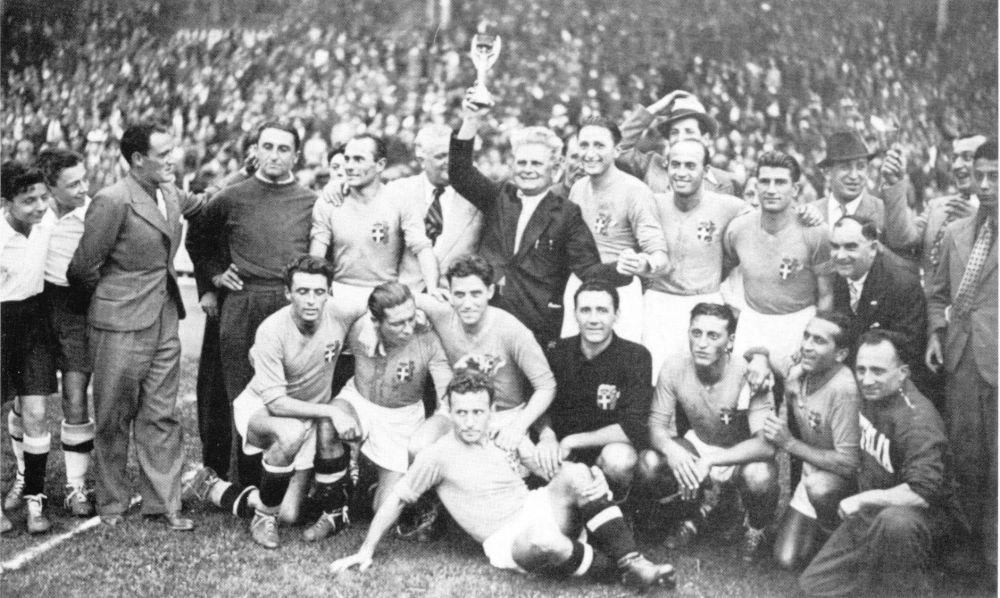Италия – Венгрия: 4:2. 1938 год. Стадион Стад Олимпик, Франция.