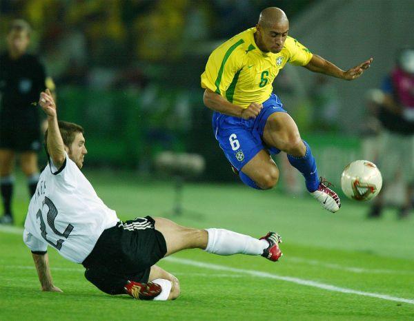 Бразилия – Германия: 2:0. 2002 год. Интернациональный стадион, Йокогама.