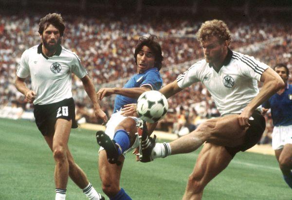 Италия – Германия: 3:1. 1982 год.  Стадион Сантьяго Бернабеу Испания, Мадрид.