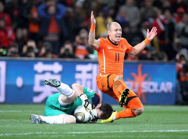 Нидерланды - Испания: 0:1. 2010 год. Стадион«Соккер Сити», Йоханнесбурге, ЮАР.