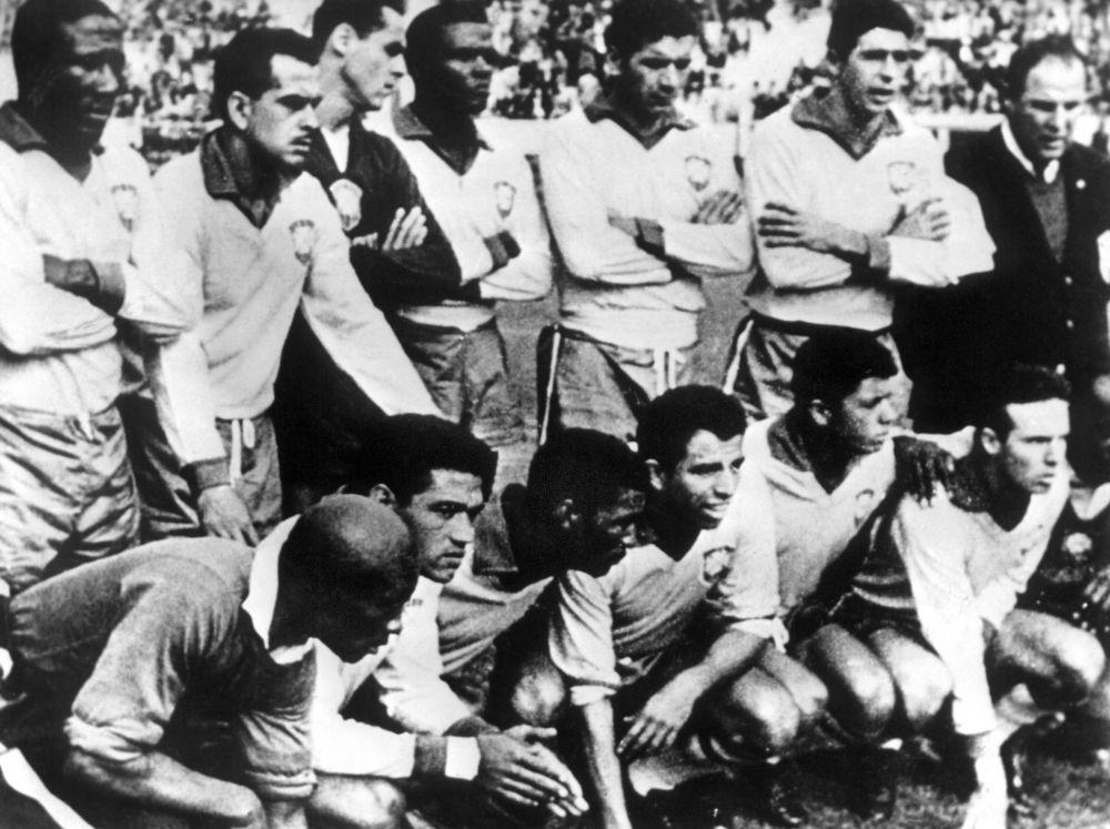 Бразилия – Чехословакия: 3:1. 1962 год.  Стадион Эстадио Насьонал, Чили, Сантьяго.
