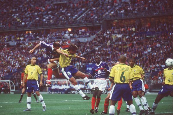 Франция – Бразилия: 3:0. 1998 год. Стадион Стад де Франс, Франция, Париж.
