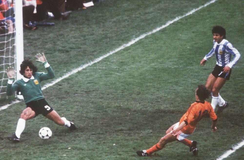 Аргентина – Голландия: 3:1. 1978 год. Стадион Эстадио Монументаль, Аргентина, Буэнос-Айрес.