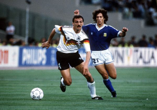 Германия – Аргентина: 1:0. 1990 год. Стадион Олимпико, Италия, Рим.