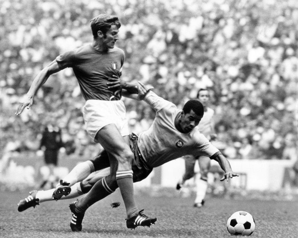 Бразилия – Италия: 4:1. 1970 год. Стадион Ацтека, Мексика, Мехико.