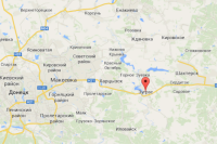 Зугрэс на онлайн-карте Google