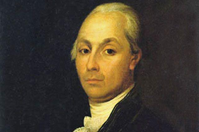 Портрет Александра Радищева. Не позднее 1790-го года.