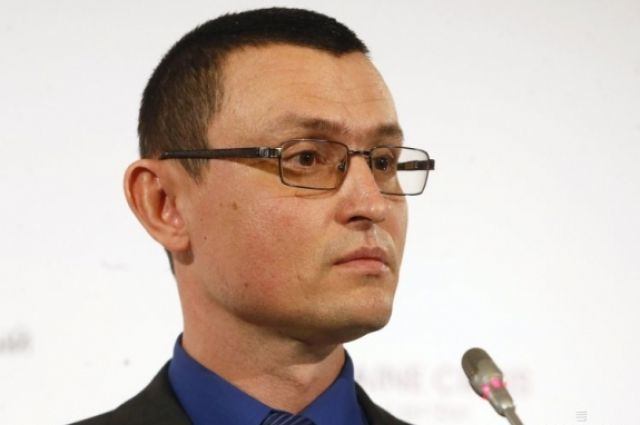 Спикер АТО Владислав Селезнев