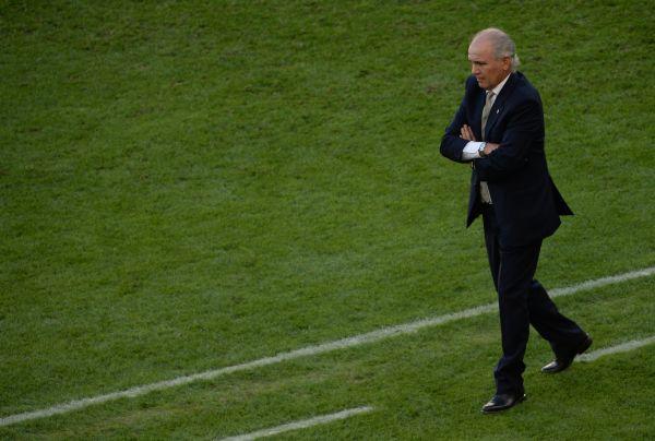 Тренер сборной Аргентины Алехандро Сабелья