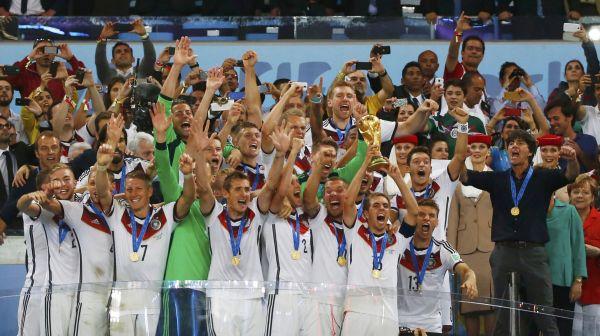 Немецкая сборная – победители чемпионата мира по футболу – 2014