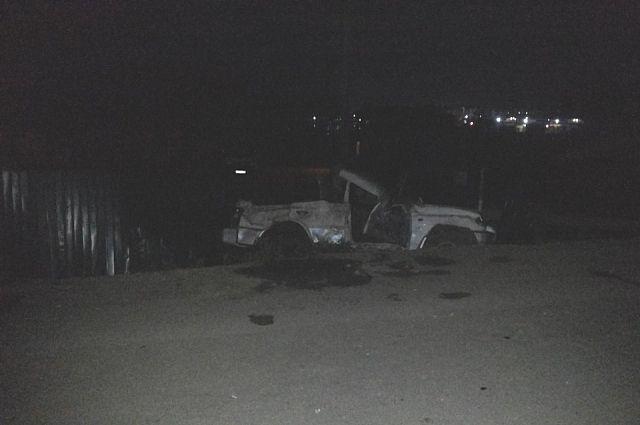 ДТП в Андреевке. Разбитый Mitsubishi Pajero.