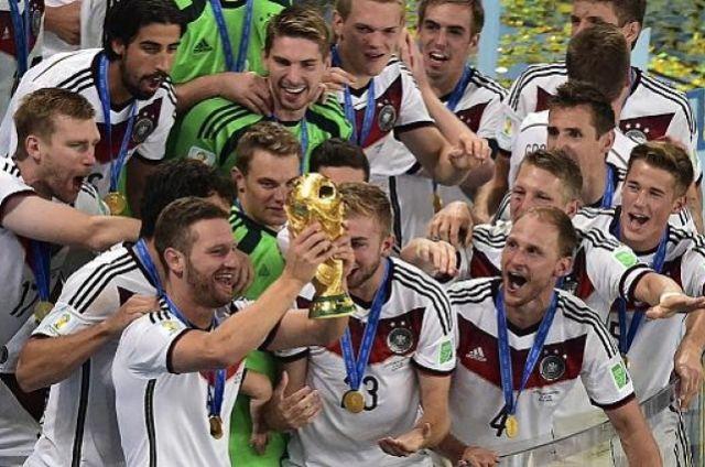 Сборная Германии по футболу, чемпион мира 2014 года