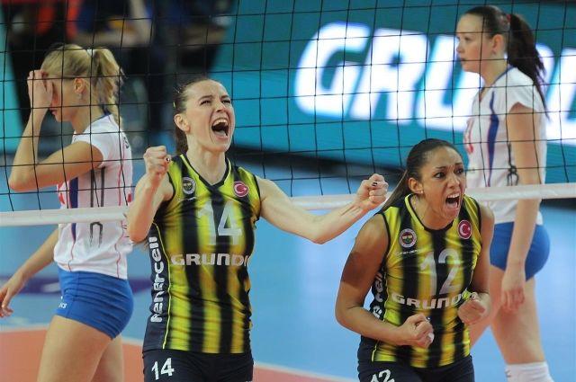 Волейбольная сборная России завоевала «серебро» на Кубке Ельцина