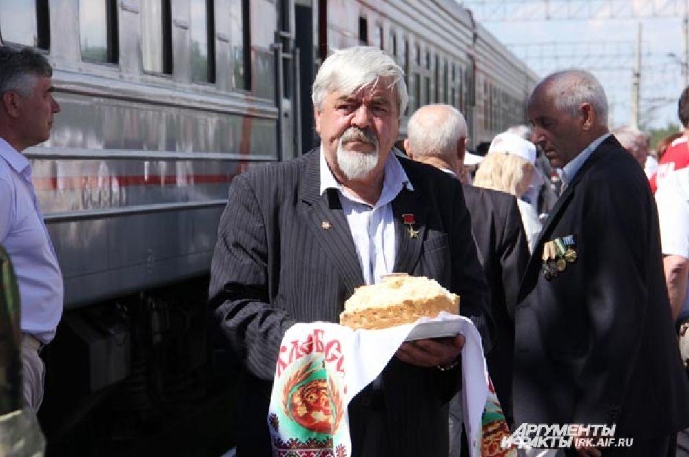 Ветеран БАМа, герой Соцтруда Александр Бондарь.