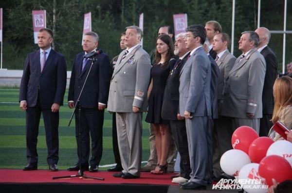 Одно из главныхх событий дня в Тынде - телемост с президентом страны, во время которого он дал официальный старт строительству БАМа 2.