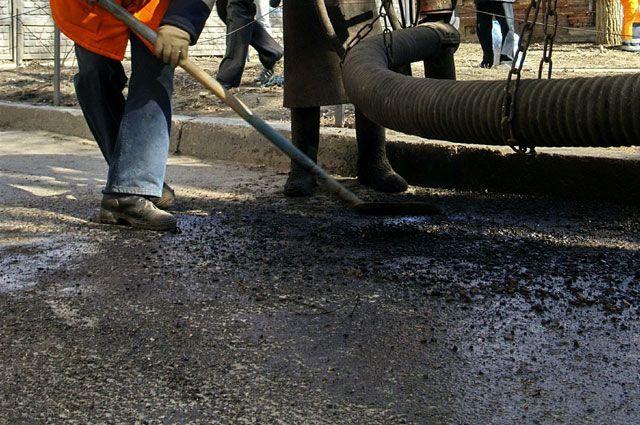 Дорогу обещают отремонтировать к 31 октября.