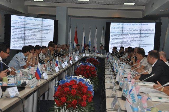Координационный совете МАСС в рамках МИК-2014.