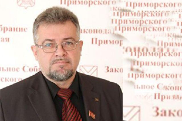 Первый секретарь Приморского отделения КПРФ Владимир Гришуков.