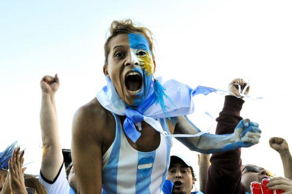 Аргентинских фанатов переполняют эмоции