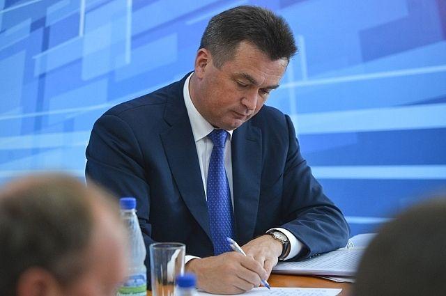 Владимир Миклушевский на выездном заседании.