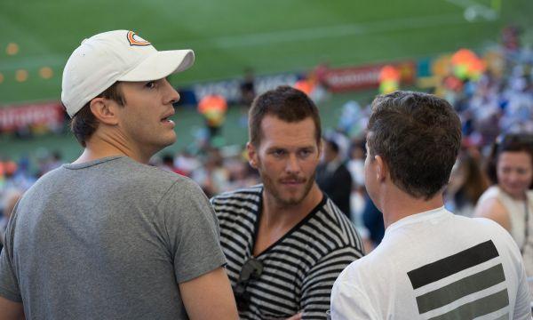 Американский актер Эштон Катчер тоже был на финале ЧМ по футболу-2014