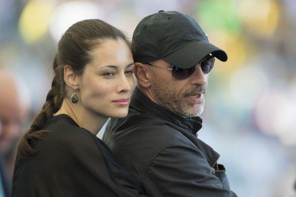 Эрос Рамазотти с женой Марикой Пеллегринелли