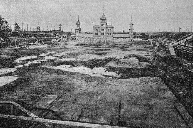 Стадион в Стрыйском парке, Львов