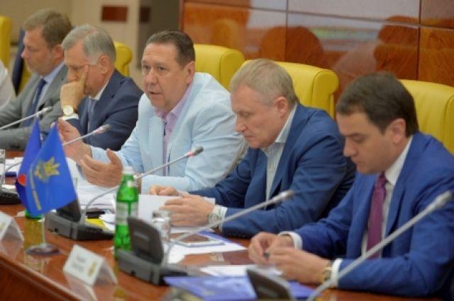 Заседание Федерации Футбола Украины