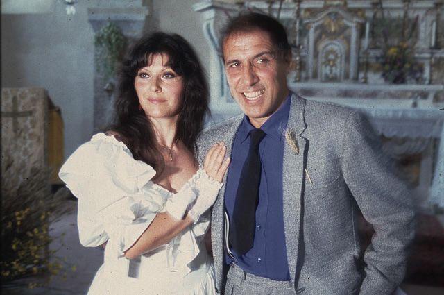 Адриано Челентано и Клаудиа Мори. 1964 год.