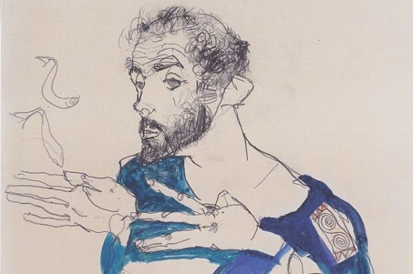 Густав Климт родился в венском предместье Баумгартен 14 июля 1862. Его отец был художником-гравером, но не имел постоянной работы, и семья жила в бедности. Густав с братьями в детстве учились живописи у родителя. А в 1876 году Климт поступил в венское  художественно-ремесленное училище при Австрийском музее искусства и промышленности, в котором проучился до 1883 года.