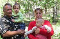 Алексей и Наталья Сметана приехали из Дзержинска (45 км. от Донецка)
