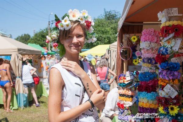 «Город мастеров» традиционно пользовался большой популярностью у гостей фестиваля.