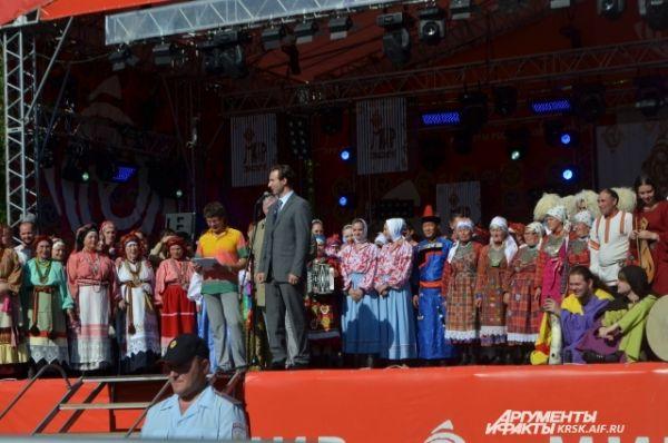 Концерт номинантов, первый фестивальный день, 11 июля.