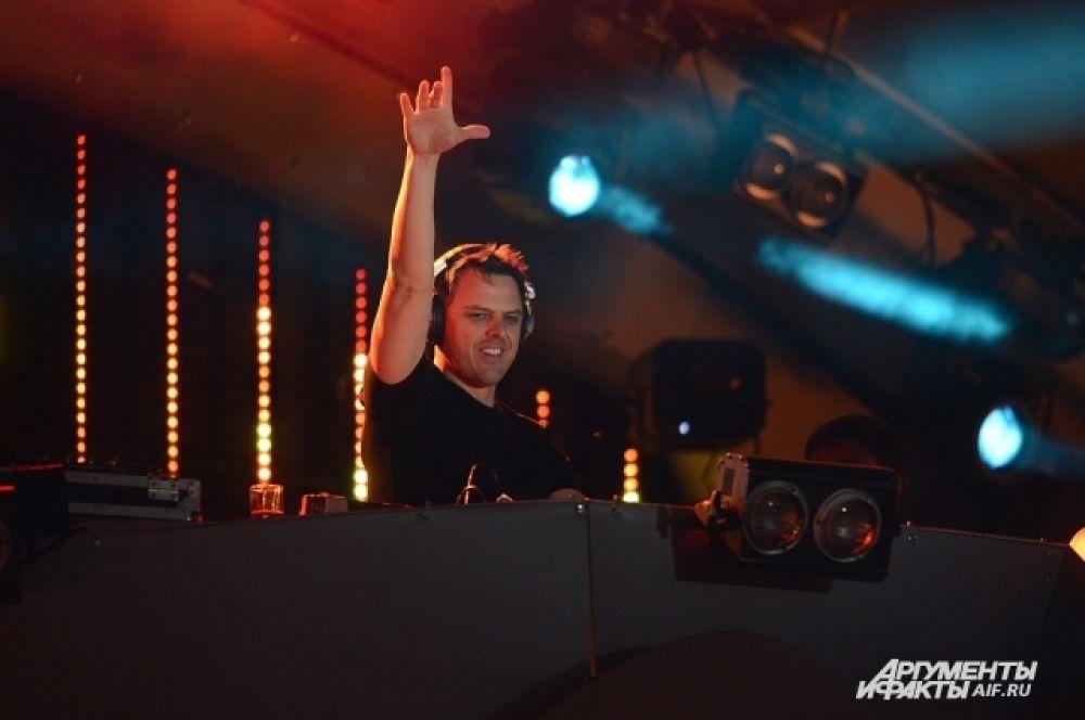 Маркус Шульц, немецкий диджей и продюсер электронной музыки жанра транс.