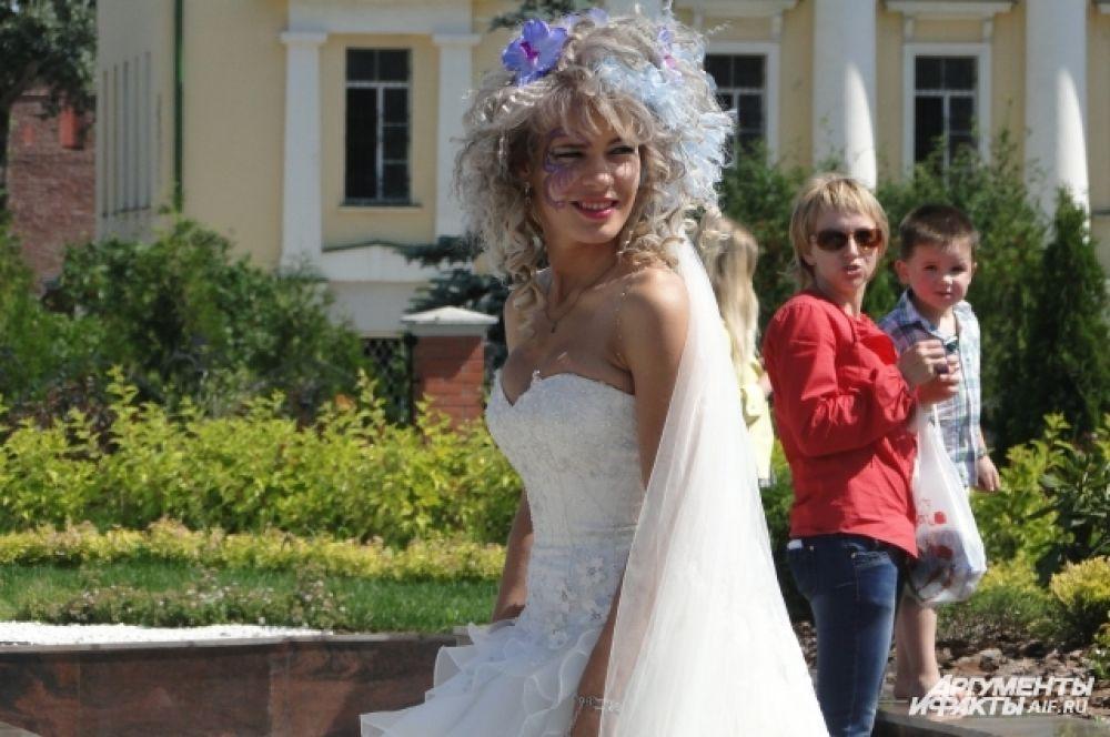 Самая «эмоциональная» невеста фестиваля