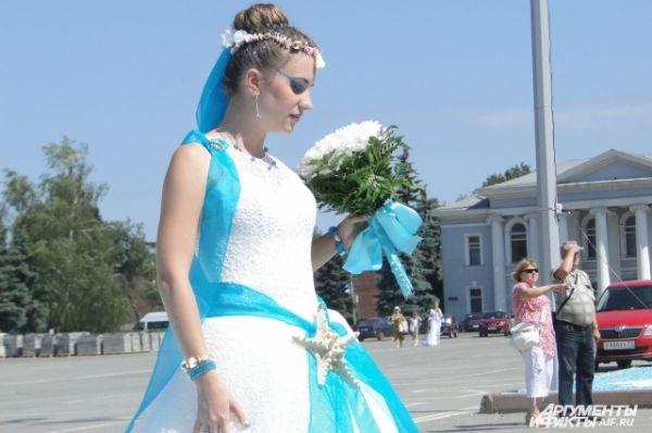 Морская невеста: голубая гамма в этом году в почете