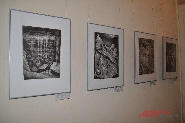 Выставка работ Владимира Кудряшова.