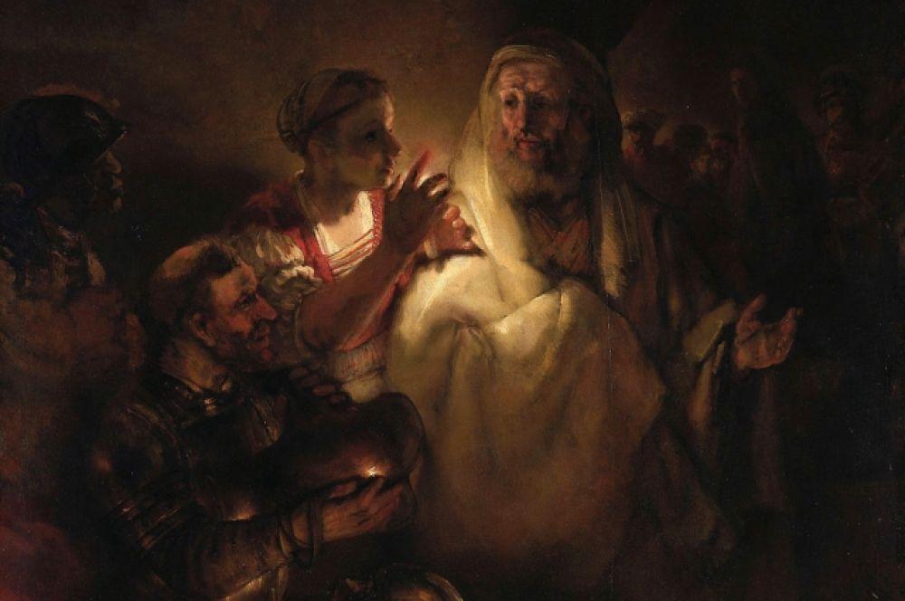 Историки искусства признают, что гений Рембрандта развивался по восходящей, и последние работы художника – уникальны. Художника привлекают моменты самых сильных человеческих переживаний, поэтому картины последнего периода творчества Рембрандта - «Артаксеркс, Аман и Эсфирь» (1660), «Отречение апостола Петра» (1660), «Возвращение блудного сына» (1666/1669), «Еврейская невеста» (1665) - наполнены драматическим напряжением.