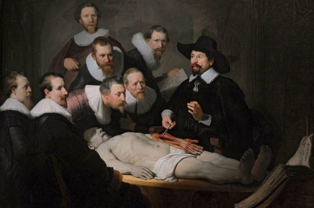 Слава приходит к Рембрандту в 1632 году. После создания группового портрета «Урок анатомии доктора Тульпа» заказы посыпались на 26-тилетнего художника один за другим. В это же время он женится  на дочери бургомистра – Саскии ванн Эйленбюрх , и перед художником открываются двери самых роскошных особняков города.