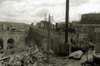 Разрушенный фашистами Севастополь. 1941 год.