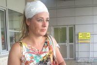 Ирина Захарова сидела в середине поезда и отделалась легкими травмами.