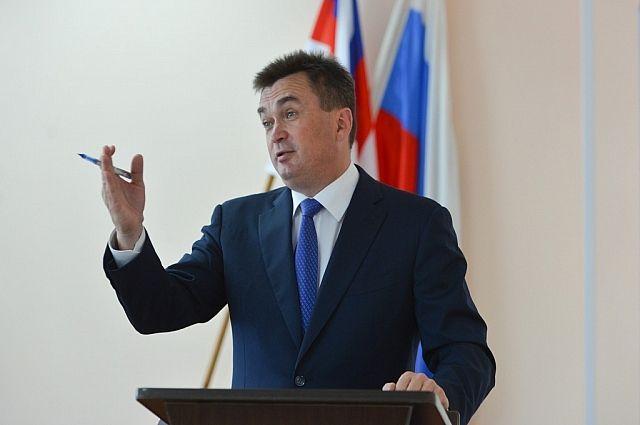 Владимир Миклушевский на встрече с жителями Анучинского района.