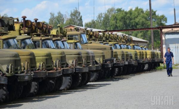 Обновление военной техники на Шепетовском ремонтном заводе