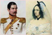 Петр Ланской и Наталья Пушкина.